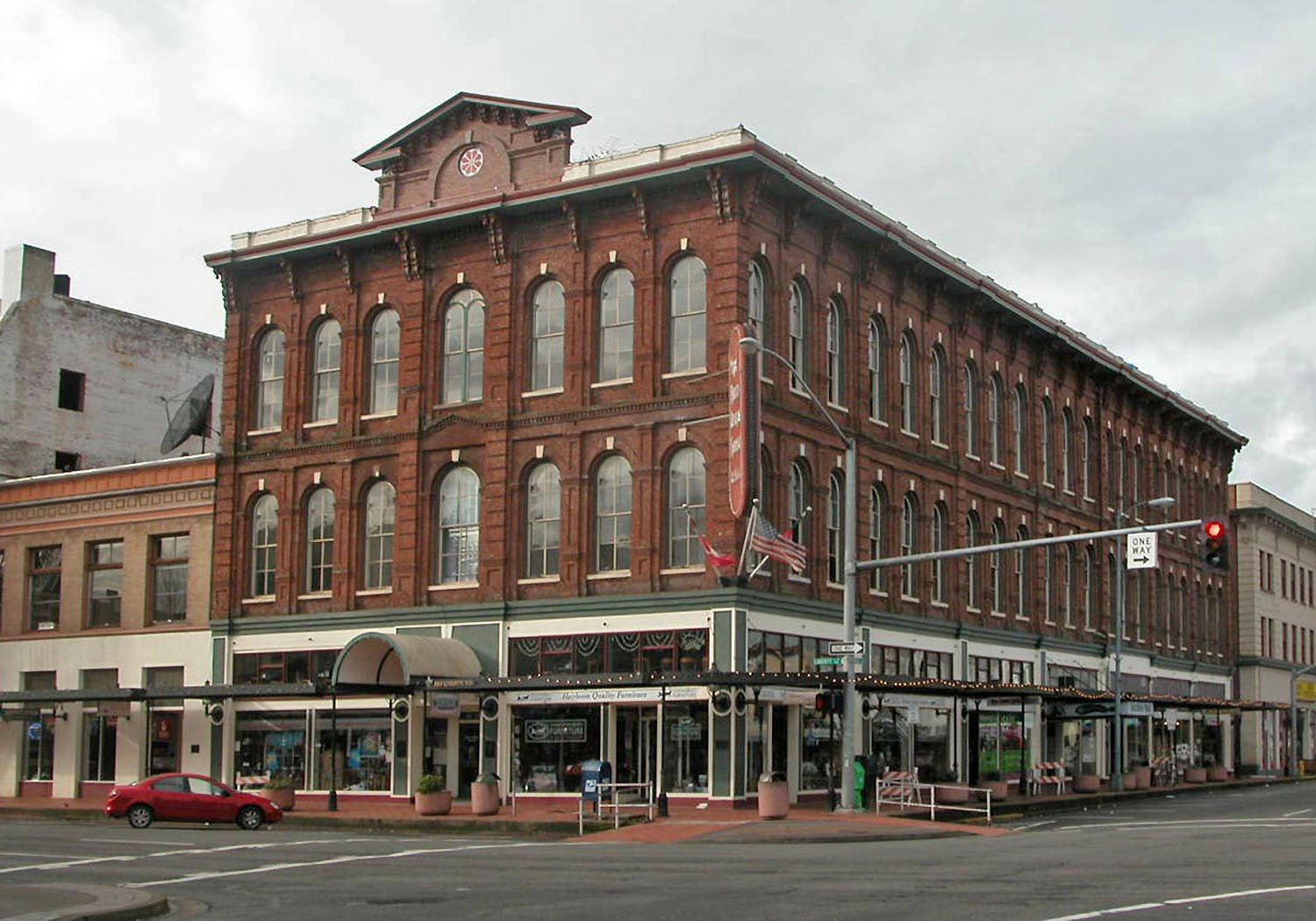 Reed Opera House and McCornack Building 177-189 Liberty Street NE in CAN-DO (NR)