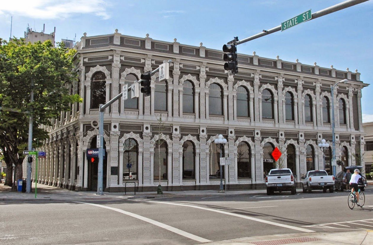 Ladd and Bush Bank Building, 302 State Street in CAN-DO (LL)