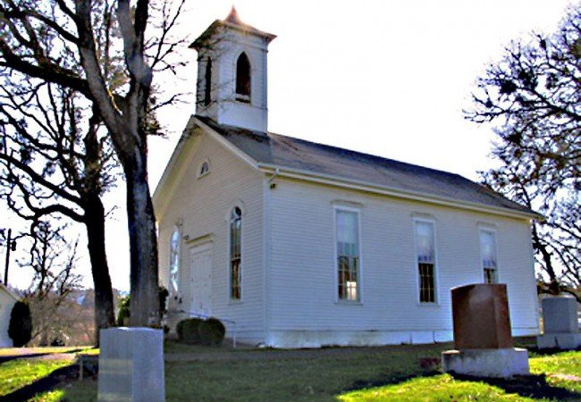 Spring Valley Church, Brush College Road in West Salem