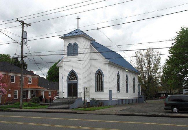 Church of God of Oregon, 1760 State Street in SESNA