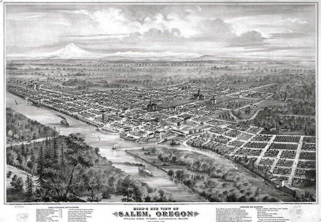 Salem in 1876