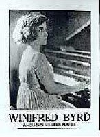 "Our ""Wonder Pianist"" ~ Winifred Byrd"