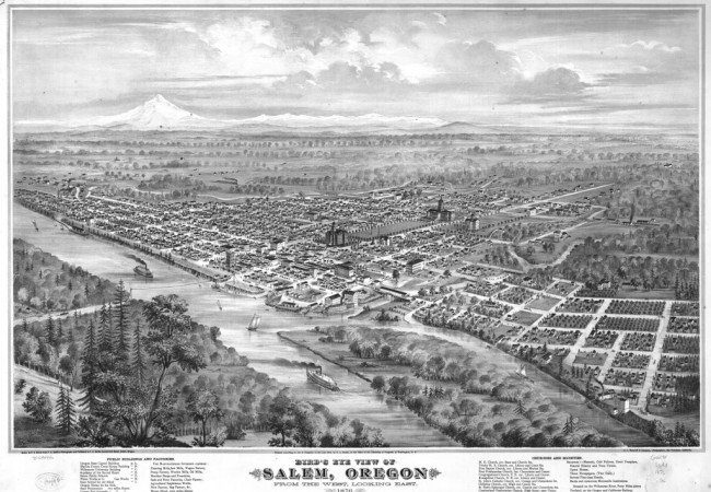 Salem ~ Oregon's Capital City
