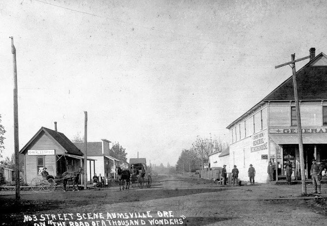 Aumsville: From Flour Mill to Corn Festival